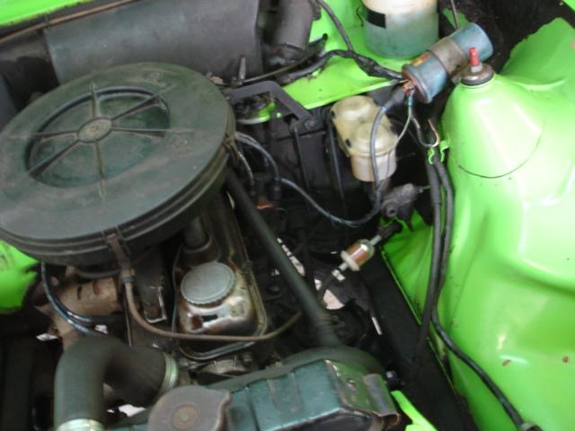 steun om motoren